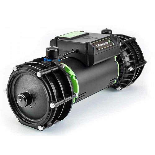 Salamander Pumps Right RP100PT Twin Shower Pump (+ Head. 3.0 Bar).