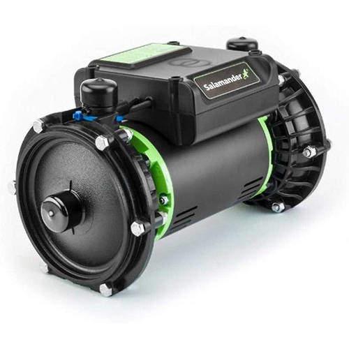 Salamander Pumps Right RP50PT Twin Shower Pump (+ Head. 1.5 Bar).