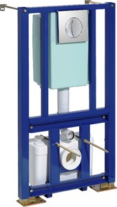 Saniflo Saniwall Macerator With Built In Frame System.