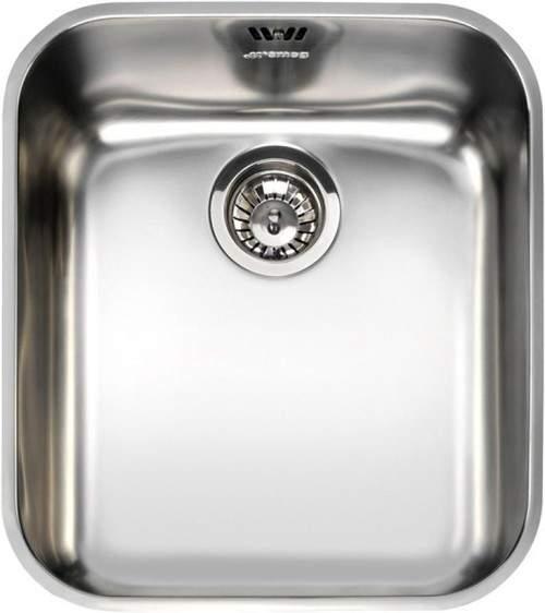 Smeg Sinks Alba Undermount Kitchen Sink 340x400mm (S Steel).