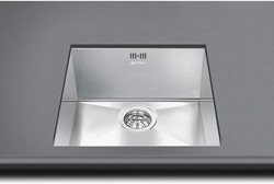 Mira Undermount Kitchen Sink 340x400mm (S Steel). Smeg Sinks SM-VSTR34