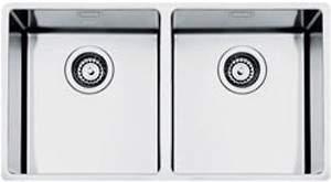 Smeg Sinks Mira 2.0 Bowl Undermount Kitchen Sink 802x400mm (S Steel).