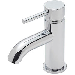 Tre Mercati Milan Basin Mixer Tap With Click Clack Waste (Chrome).