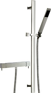Hudson Reed Bar Shower Thermostatic Bar Shower Valve & Sheer Slide Rail Set.