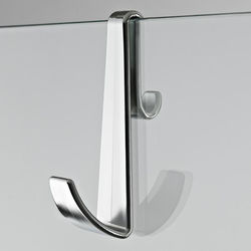Premier Wetroom Accessories Shower Enclosure Hook (Chrome).