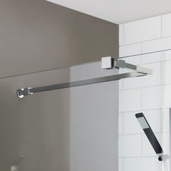 Premier Wetroom Accessories Universal Stabilising Bar (Chrome).