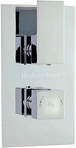 "Hudson Reed Art 3/4"" Twin Thermostatic Shower Valve With Diverter."