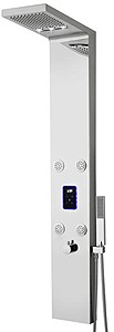 Hudson Reed Showers Genie LED Thermostatic Shower Panel With Jets.