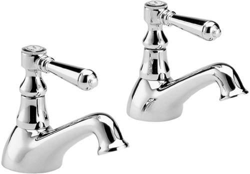 Hudson Reed Jade Lever basin taps (pair)