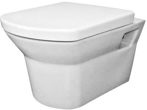 Ultra Alton Wall Hung Toilet Pan.