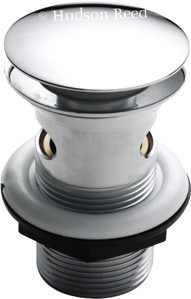 Wastes Easyclean Push Button Basin Waste (SLOTTED).