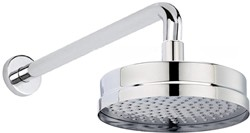 Hudson Reed Showers Tec Shower Head With Arm (200mm).
