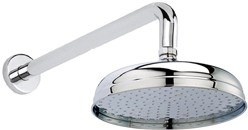 Hudson Reed Showers Apron Shower Head With Arm (200mm).