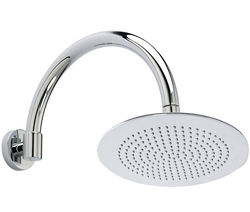 Hudson Reed Showers Round Shower Head With Arm (300mm).