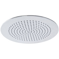 Component Round Shower Head (Chrome). 300mm.