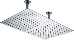 Component Rectangular Shower Head (Stainless Steel). 600x400mm.