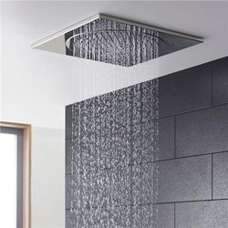 Hudson Reed Showers Square Ceiling Tile Fixed Shower Head. 500x500mm.