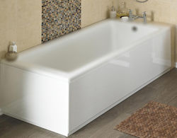 Crown Bath Panels Side & End Bath Panel Pack (Gloss White, 1700x700).
