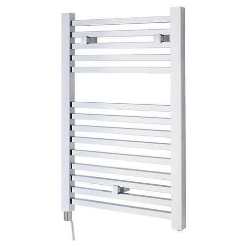 Hudson Reed Radiators Electric Towel Rail 500W x 690H mm (Chrome).
