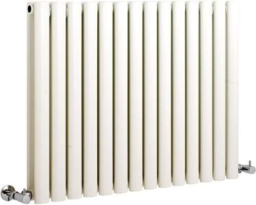 Hudson Reed Radiators Revive white radiator size 633 x 826mm. 4132 BTU