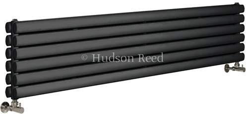 Hudson Reed Radiators Revive Radiator (Anthracite). 1500x354mm. 4708 BTU.