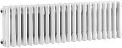 Ultra Colosseum 3 Column Horizontal Radiator (White). 1011x300mm.