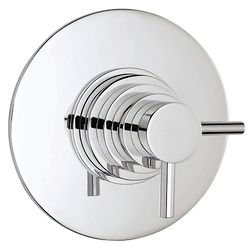 Hudson Reed Tec Dual Concealed Thermostatic Shower Valve (Chrome).