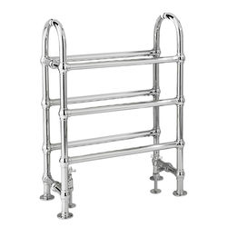 HR Traditional Adelaide Traditional Towel Radiator H780 x W685 (Chrome).