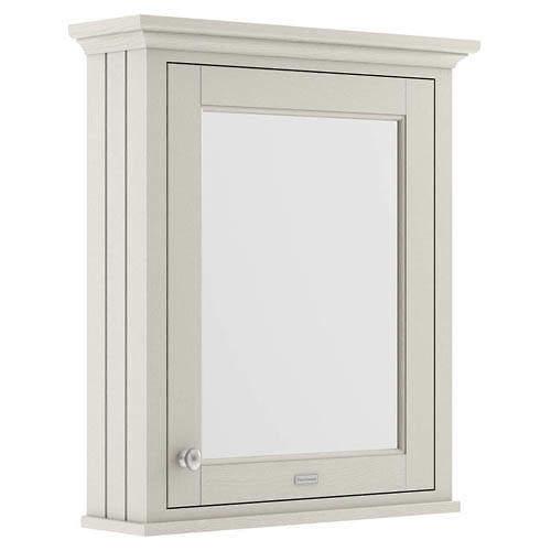 Old London Furniture Mirror Bathroom Cabinet 600mm (Timeless Sand).