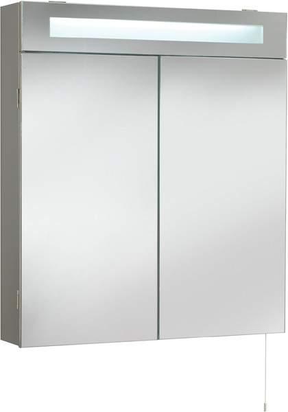 Ultra Cabinets Tucson Mirror Bathroom Cabinet U0026 Light. 620x700mm.