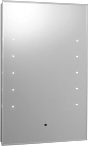 Hudson Reed Mirrors Alcina Touch Sensor Backlit Mirror. Size 400x600mm.