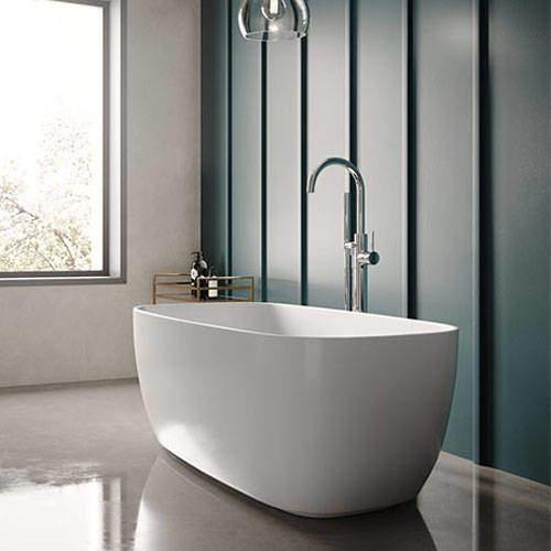 Hudson Reed Baths Bella Freestanding Bath 1495x721mm.