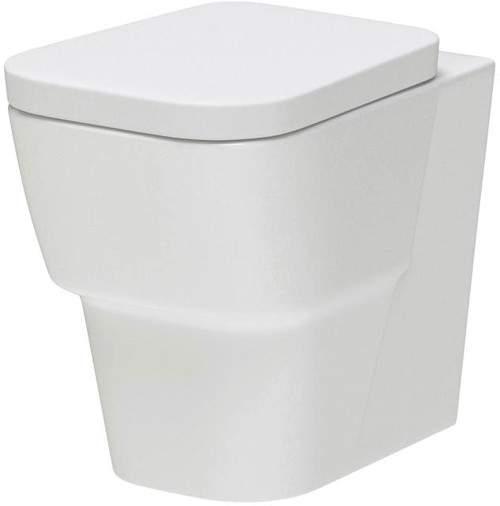 Hudson Reed Ceramics Back to Wall Toilet Pan (BTW).