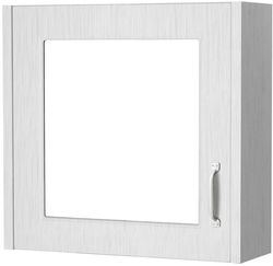Old London York Mirror Bathroom Cabinet 600mm (White).