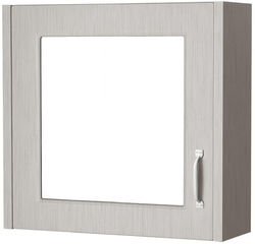 Old London York Mirror Bathroom Cabinet 600mm (Grey).