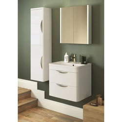 Premier Parade 600mm Vanity Unit Pack 1 (Gloss White).