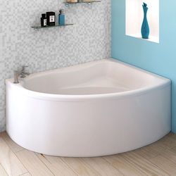 Crown Baths Pilot Single Ended Corner Bath & Panel (Right Handed).