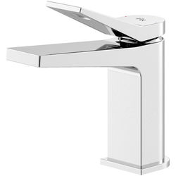 HR Soar Basin Mixer Tap With Lever Handle (Chrome).