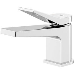 HR Soar Mini Basin Mixer Tap With Lever Handle (Chrome).