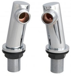 Ultra Parts Round Minimalist Inlet Legs (Chrome).