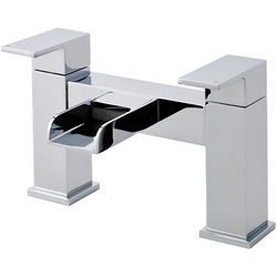 Nuie Strike Waterfall Bath Filler Tap (Chrome).