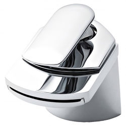 Nuie Mona Waterfall Basin Mixer Tap With Waste (Chrome).