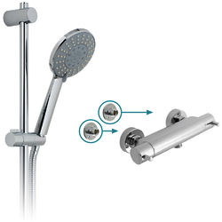 "Vado Shower Packs Celsius 1/2"" Thermostatic Shower Pack & Brackets."