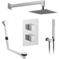 Vado Shower Packs Thermostatic Shower Set With 3 Outlets (Chrome).