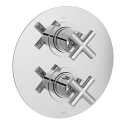 Vado Elements Thermostatic Shower Valve With 1 Outlet (Chrome).