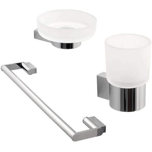 Vado Infinity Bathroom Accessories Pack A12 (Chrome).