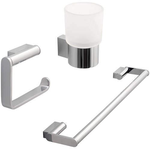 Vado Infinity Bathroom Accessories Pack A14 (Chrome).