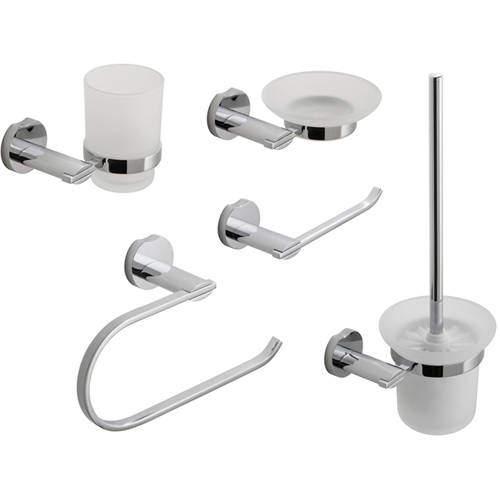 Vado Kovera Bathroom Accessories Pack A6 (Chrome).