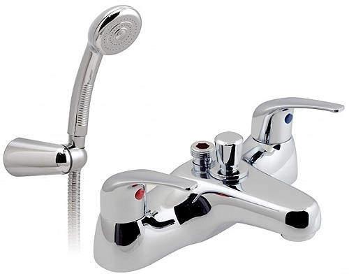 Vado Matrix Bath Shower Mixer Tap With Kit (Chrome).