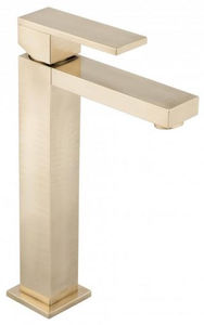 Vado Notion Extended Basin Mixer Tap (Brushed Gold).